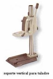 Pin soporte vertical para taladro grupo 23 on pinterest - Soportes para taladro ...
